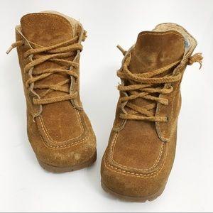 lug Shoes - LUG sole Suede Fur Ankle Boots N0306
